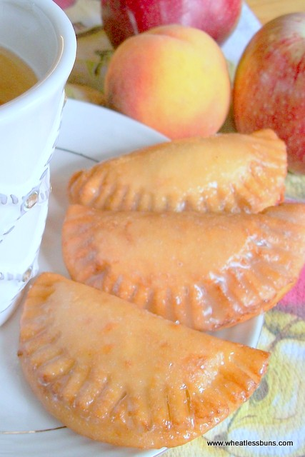 Deep Fried Fruit Turnovers | Gluten Free, Low Carb | Wheatless Buns