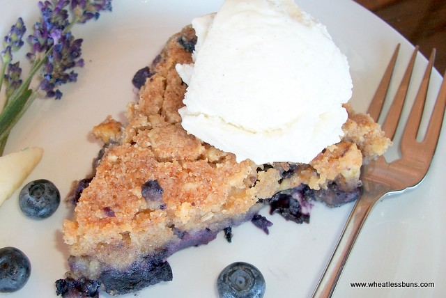 Grain Free Apple Blueberry Skillet Pie | Gluten Free, Low Carb | Wheatless Buns |