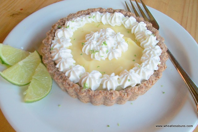 Key Lime Curd Tarts | Gluten Free, Low Carb | Wheatless Buns